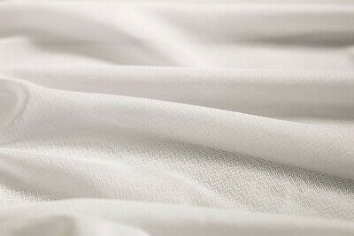 £5.49 • Buy White MEDIUM Stretch Knitted Fusible Interfacing -150cm Wide
