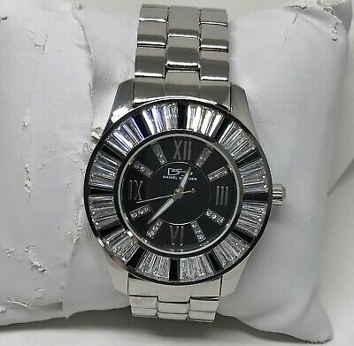 $125 • Buy Daniel Steiger Stainless Steel Watch With Crystals In Original Box
