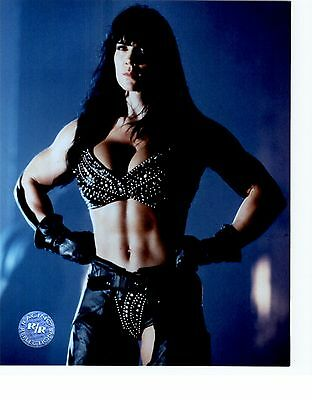 $ CDN6.33 • Buy CHYNA WWE WWF UNSIGNED 8x10 Photo RACING REFLECTIONS