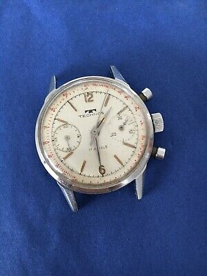 $ CDN1050.64 • Buy Technos Vintage Chronograph Venus 188