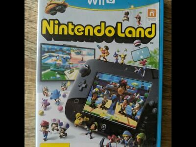 AU10 • Buy Nintendo Land Wii U Excellent Condition! Complete! Free Post! Classic!