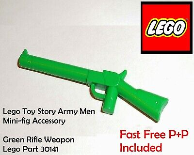 Lego Toy Story Army Men Mini-fig Accessory Part 30141 Green Rifle__fast Free P+p • 1.79£
