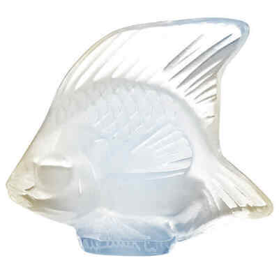 Lalique Opalescent Crystal Fish 3001300 • 58.99£