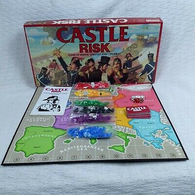 $29.95 • Buy 1986 Parker Brothers No. 0076 Castle Risk Game Of Daring Strategy And Conquest
