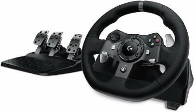$736.22 • Buy Logitech G920 Driving Force Steering Wheel Of Racing And Pedals Xbox One/PC /