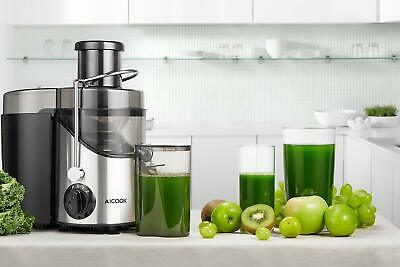 Blender Pressed Cold For Vegetables And Fruits Aicook 3 Speed Wide Mouth • 205.29£