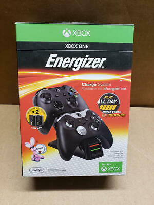 $28 • Buy PDP Energizer Xbox One Controller Charger Base With 2 Rechargeable Battery