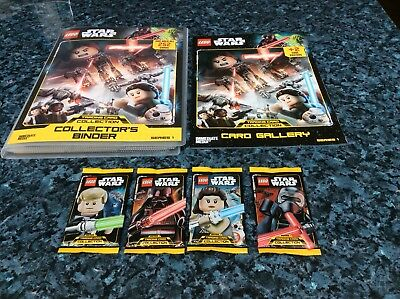 Lego Star Wars Series 1 Ships & Planet Trading Cards • 2£