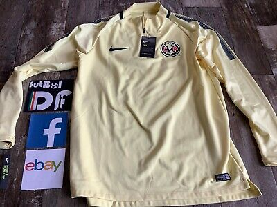 $79.99 • Buy Club America Mexico Futbol Nike New W/Tag Medium Size Training Top Jersey Soccer