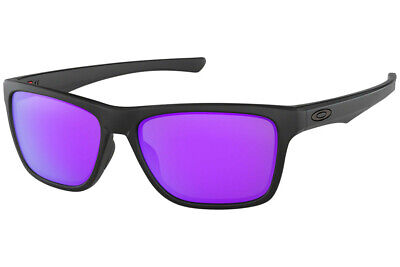 AU179.95 • Buy NEW Genuine OAKLEY HOLSTON Matte Black Violet Iridium Sunglasses OO 9334 09 0958