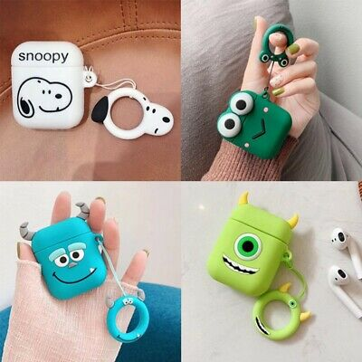 $ CDN3.95 • Buy Monster Sully Applicable Apple AirPods Cover Cartoon Shell Silicone Case Cover#v