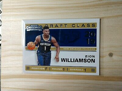 $3 • Buy Zion Williamson NBA Panini Contenders Rookie Card #1