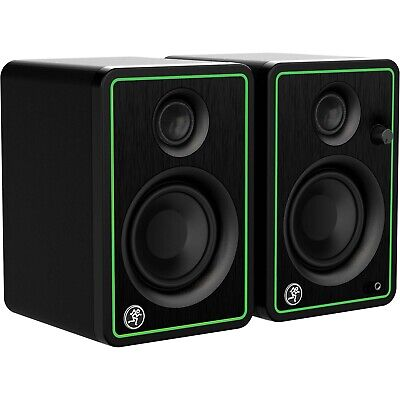 $119.99 • Buy Mackie CR3-XBT 3  Active Powered Studio Monitor Speakers With Bluetooth Pair