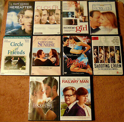 $ CDN26.29 • Buy Lot Of 10 ROMANTIC DRAMA DVDs - Hereafter  The Story Of Us  The Lucky One +
