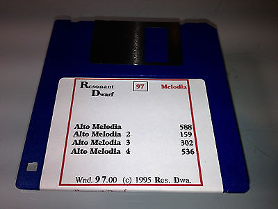 $3.50 • Buy Ensoniq EPS16+ Vintage DD Floppy Discs (Winds)(Resonant Dwarf) (1 Disc)
