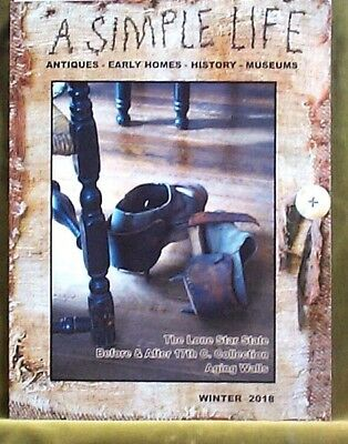 $9 • Buy A Simple Life Magazine Winter 2018 Lone Star State Rural Clothing Mouse Traps