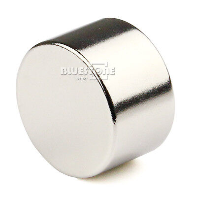 £7.18 • Buy 1pc N50 25mm X15mm Big Strong Disc Round Cylinder Rare Earth Neodymium Magnet