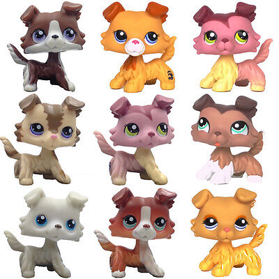 Littlest Pet Shop Dogs Cute Lps Toys Lot Of LPS Collie Dogs Little Gift For Girl • 2.59£