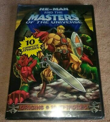 $9.99 • Buy He-Man And The Masters Of The Universe: Origins DVD 10 Episodes New Sealed