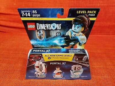 £19.74 • Buy Portal 2 Chell + Sentry Turret + Companion Cube Level Pack Lego Dimensions New !