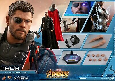 $256.49 • Buy  HOT TOYS MARVEL AVENGERS: INFINITY WAR THOR 1:6 FIGURE ~Sealed In Brown Box~