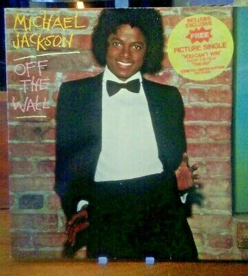 Michael Jackson Off The Wall Vinyl LP Strictly Ltd Edition With Picture Single  • 70£