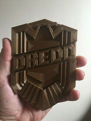Judge Dredd Badge (2012) Full Scale To Fit Armour • 17.99£