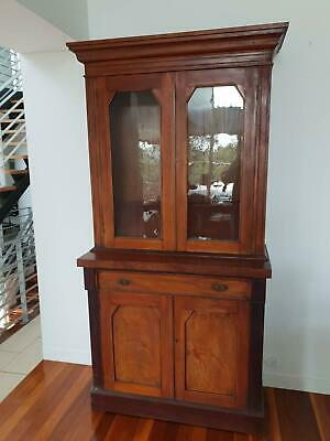 AU1200 • Buy Antique Bookcase  Display Cabinet