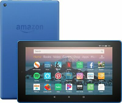 AU133 • Buy Amazon Fire HD 8 Tablet 16Gb 8th Generation (2018) W Alexa - Black / Blue