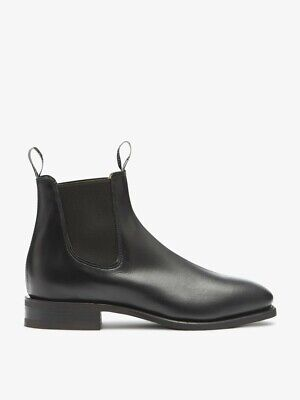 AU41 • Buy RM Williams Mens Shoes Size 10 Black Ankle Boots Leather