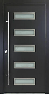 Entry Door ALU-Safeline Model AC11 - Anthracite/White - HQ Product. • 1,172.15£