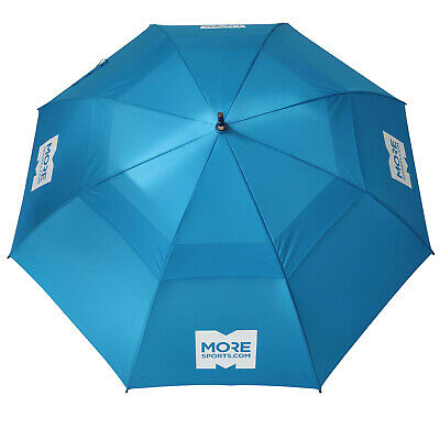 MoreSports 58  Double Canopy Umbrella UV Protection Auto-Open Strong Gust Golf • 24.95£