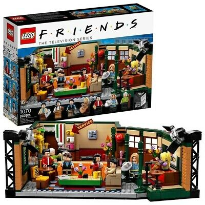 $80 • Buy LEGO Ideas Central Perk 21319 Friends The Television Series New In Box