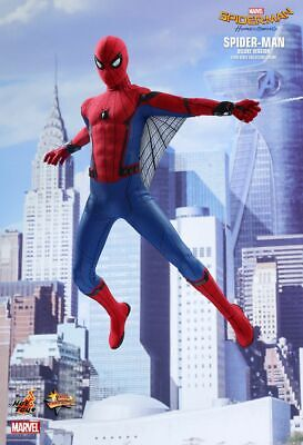 $549.99 • Buy Homecoming Spider-man Deluxe Hot Toys 1/6 Figure Mms426 Peter Parker Tom Holland