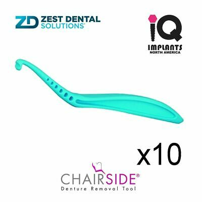 $49.99 • Buy Zest CHAIRSIDE® Essential Denture Removal Tool, 10-Pack