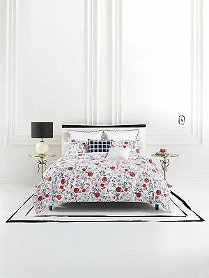 $315.70 • Buy Kate Spade New York Blossom Comforter Set, Twin XLong, White/Red/Pink