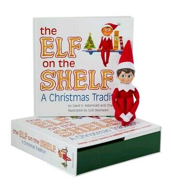 AU42.47 • Buy Elf On The Shelf : A Christmas Tradition Blue-Eyed Boy Light Skinned Scout Elf