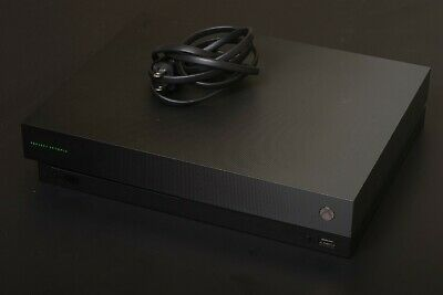 $50 • Buy Microsoft Xbox One X 1TB Console - Black, For Parts Only