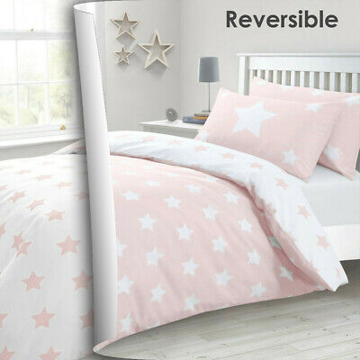 AU28 • Buy All Size Bed Ultra Soft Quilt Duvet Doona Cover Set Bedding Pillowcase Pink Star