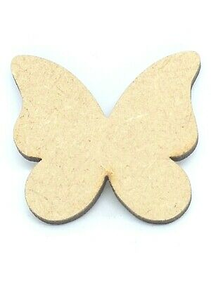 Wooden MDF Shapes Stars, Circles, Clouds, Butterflies, Leaf, Balloons, Hearts, • 1.50£