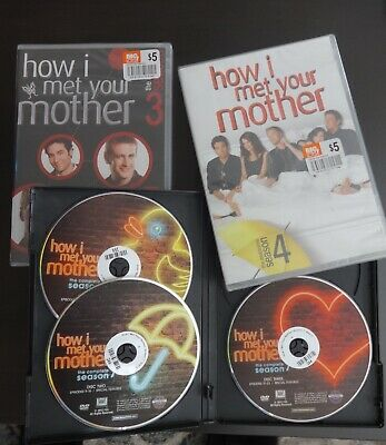 $10 • Buy How I Met Your Mother - Season 3, 4, 7 Complete Seasons - NEW/Sealed & Very Good