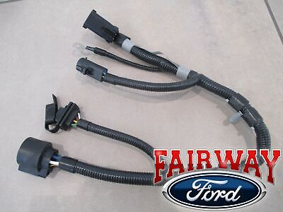 $85.95 • Buy 04 F-150 New Body Style OEM Genuine Ford 7/4-Pin Trailer Tow Wiring Harness
