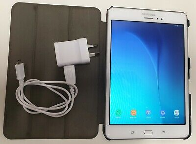 AU112.50 • Buy Samsung Galaxy Tab A [SM-T355Y] 16GB, Wi-Fi + 4G 8  Tablet - White (Unlocked)