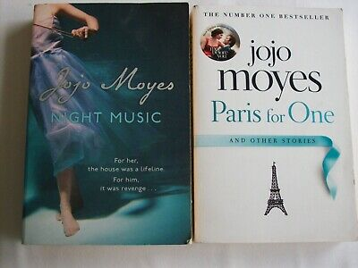 AU15.95 • Buy Jojo Moyes X2 ~ Paris For One & Other Stories + Night Music ~ Large PBs