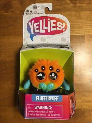 $9.95 • Buy YELLIES Flufferpuff Spider Voice Activated Fun Kids Toys Ages 5+