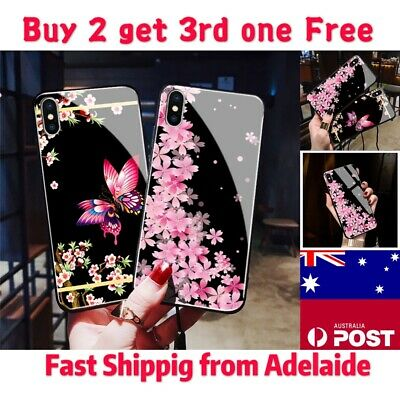 AU10.99 • Buy IPhone 11 Pro Max XS XR  7 8 6 Shockproof Flowers Cute Girls Phone Cover Case