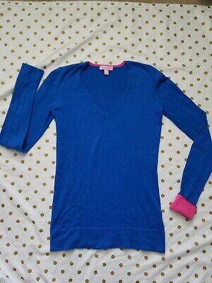 $10.50 • Buy Lilly Pulitzer Pullover Sweater Small Size Blue Color