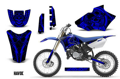 AU178.32 • Buy Yamaha YZ 85 Dirt Bike Graphic Sticker Kit Decal Wrap MX 2002-2014 HAVOC BLUE