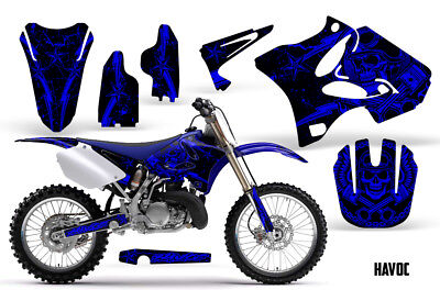 AU176.12 • Buy Yamaha YZ125 YZ250 Dirt Bike Graphic Sticker Kit Decal Wrap MX 2002-2014 HAVOC U