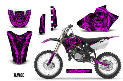 AU178.32 • Buy Yamaha YZ 85 Dirt Bike Graphic Sticker Kit Decal Wrap MX 2002-2014 HAVOC PINK